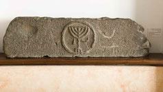 Aphek menorah, Ancient Afek Golan Menorah, 1st-3rd century, Israel