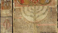menorah Peter of Poitiers, Compendium historiae in genealogia Christi. MS M.628