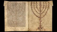 Rashi, Commentary Hebrew Bible menorah, Oppenheim 34