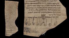 Ketubba for Evdokia bat Caleb and Namer b. Elqana Mastaura Byzantinum menorah