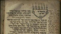 Bamberg Mahzor, Menorah of Zechariah's Vision, 1279