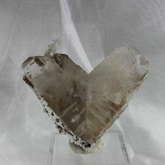 Japanese Twin Quartz Fengjishan Mine Hubei China