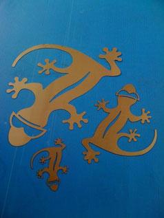 Gecko aus 2mm Stahl