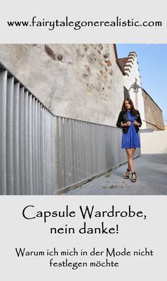 Capsule Wardrobe nein danke Farbschema im Kleiderschrank Herbstoutfit Lederjacke Modeblog Fariy Tale Gone Realistic Blog Deutschland