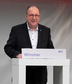 Caption:  Thomas Wimmer chairs the Logistics Association BVL - image: courtesy of BVL