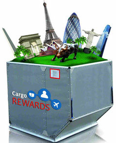 The loyalty program grants cargo clients miles when flying their tonnage with LATAM Cargo  -  company courtesy