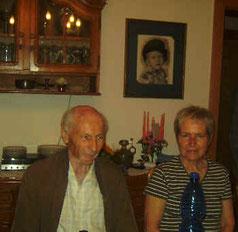 Robert Strickfaden und Ehefrau Christa