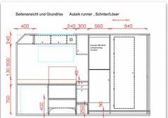 Woelcke Wölcke Autark sprinter allrad 4x4 grün paul wohnmobil reisemobil bauplan grundriss zeichnung