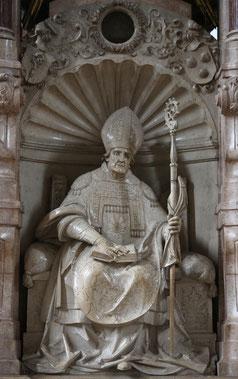 Der heilige Willibald im Eichstätter Dom – ein Werk von Loy Hering. Foto: Geraldo Hoffmann