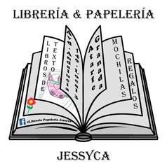 Logo de librería Jessyca en Atarfe