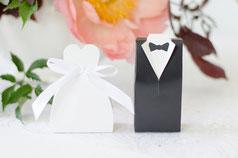 Hochzeitsmandeln und andere Giveaways