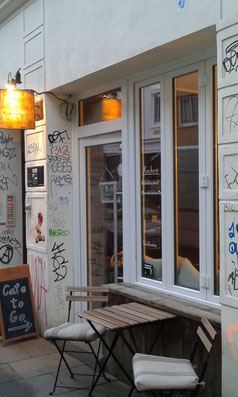 Cafe KIEZBOHNE in Hamburg St. Pauli