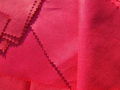 Bezugstoff rot