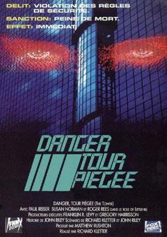 Danger Tour Piégée de Richard Kletter - 1993 / Science-Fiction