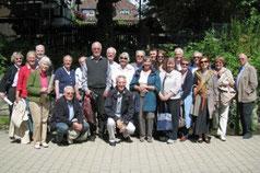 Die Reisegruppe aus Sevenoaks mit Gastgebern in Goslar