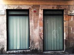 Самая короткая улица в Барселоне