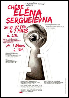 Jeune Théâtre D'appoint - JTA - Chère Eléna Sergueievna - 2015 - spectacle mis en scène par Pierre HAEZAERT
