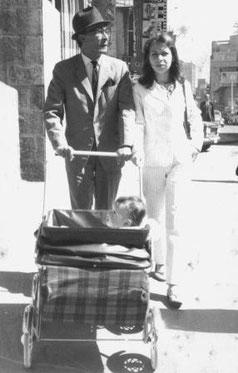 José Barros y su esposa Dora Manzano.