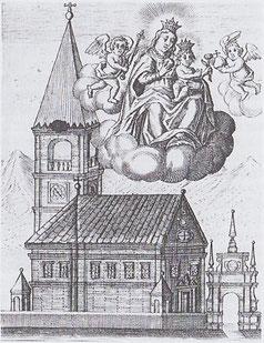 Andachtsbildchen aus 1620