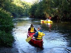 Balade en canoë et kayak à 10 min en voiture