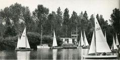 Les n°120 et n°222 sur le plan d'eau de Vaires du YC Marne