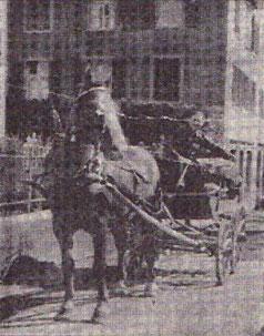 Posttransport von Flums nach Portels durch Viktor Kunz (1915-2003) im Jahr 1934