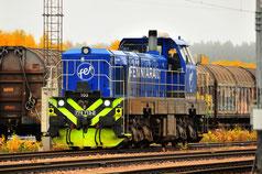 Finnland Bahnfoto P.Trippi