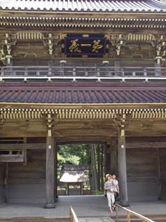 写ッセ 歴史文化部門賞 No.40002 山門から惣門をみる 小野 普市(東京都)