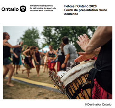 Lien au Guide de présentation d'une demande à Fêtons l'Ontario 2017