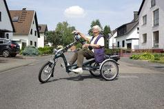 Dreirad fahren stärkt das Herz-Kreislauf-System