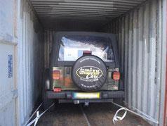 Transport de voiture en conteneur entre la Métropole et la Réunion