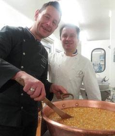 Christophe Devé et Laurent Duchêne