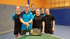 v. l.: Matthias Wibbe, Peter Schmitz, Florian Fechtler, Fabio Deckert, Pascal Polak, Andreas Wibbe