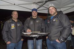 vl. Michael Moser, Christian Gerber, Thomas Sempach