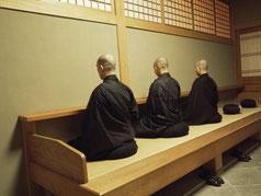 己と向き合う禅僧
