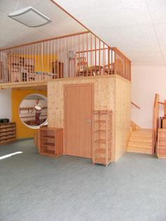 Spielplattform für Kindergarten