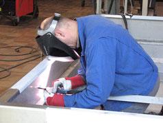 METALLbauer beim Schweißen