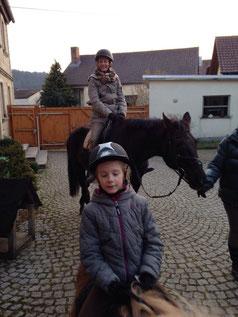 Flocke und Luzi, Mama Antje auf Heidi