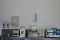 Instrumente: Desinfektion und Sterilisation