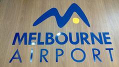 Logo Tullamarine Airport in Melbourne
