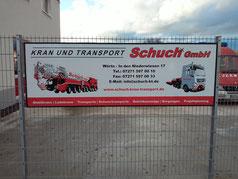 Die Übung fand auf dem Betriebsgelände der Kran und Transport Schuch GmbH in Wörth statt.