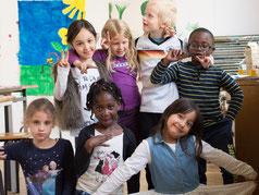 Die Farbmäuse der Grundschule in Hamburg-Bramfeld  |  Foto: LichtwarkSchule gUG, Dr. R. Palte