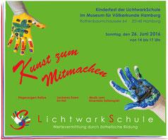 Kunst zum Mitmachen – Kinderfest der LichtwarkSchule