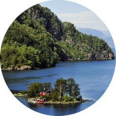 eigene Insel mieten in Norwegen, Finnland, Schweden