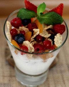 kefir de lait aux céréales