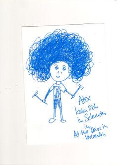 Alex gemalt von Dani