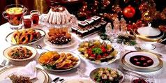 Pranzo tipico Polonia a Natale