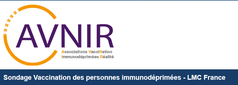 AVNIR LMC FRANCE sondage vaccination leucemie myeloide chronique cancer personne immunodeprinee