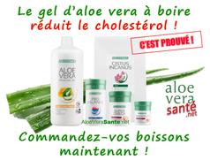 Nous avons des dizaines de témoignages de personnes qui ont vu leur santé s'améliorer et leur taux de cholestérol LDL baisser grace aux boissons au gel d'aloe vera LR !   Aloe vera sante beaute LR