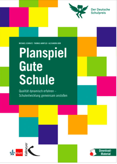 "Cover of the business game ""Gute Schule"""